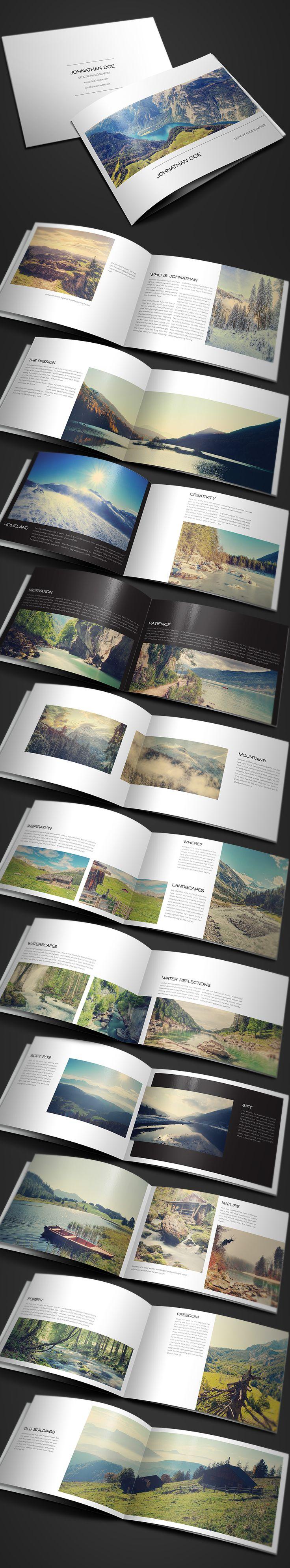 Resume Templates & Design : Modern Photography Portfolio