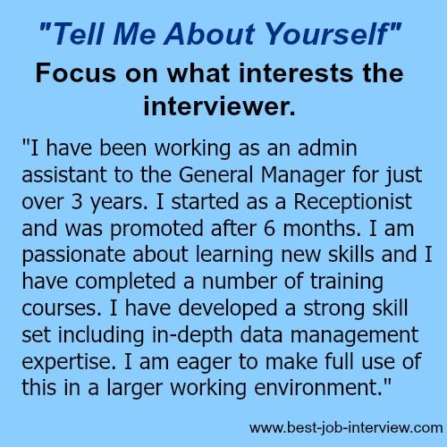 Resume Tips What To Focus On When You Are Asked Tell Me