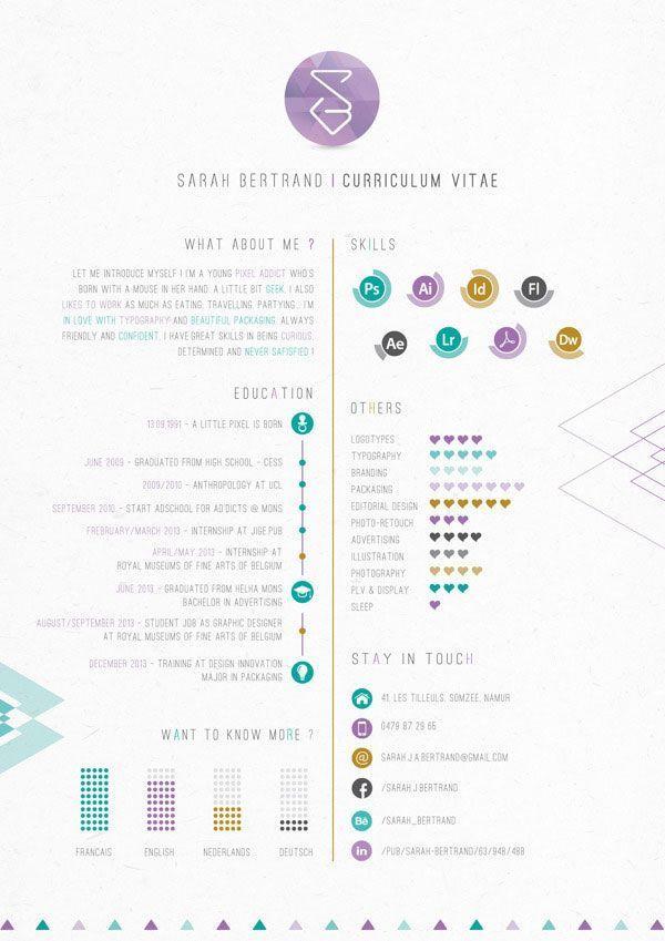 Resume Infographic Business 40 Creative CV