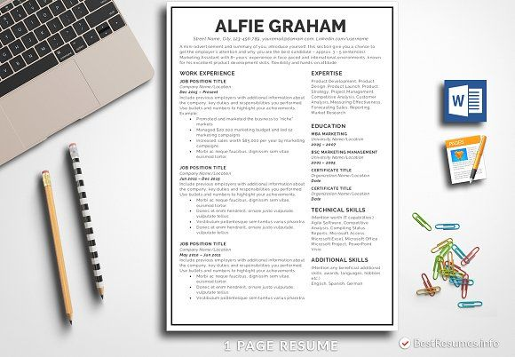 Resume Templates Design Simple Template Pages Word