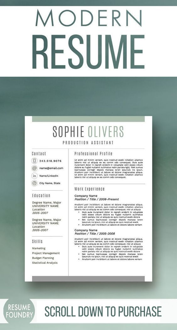 resume design shop at etsy to choose one of our proven resume