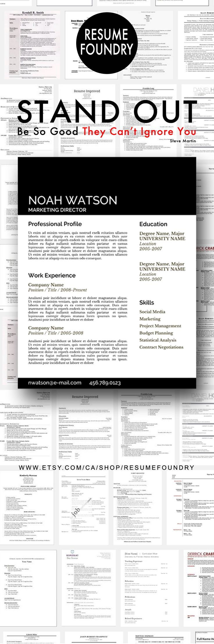 Resume Design 6 Seconds To Stand Out Make Those
