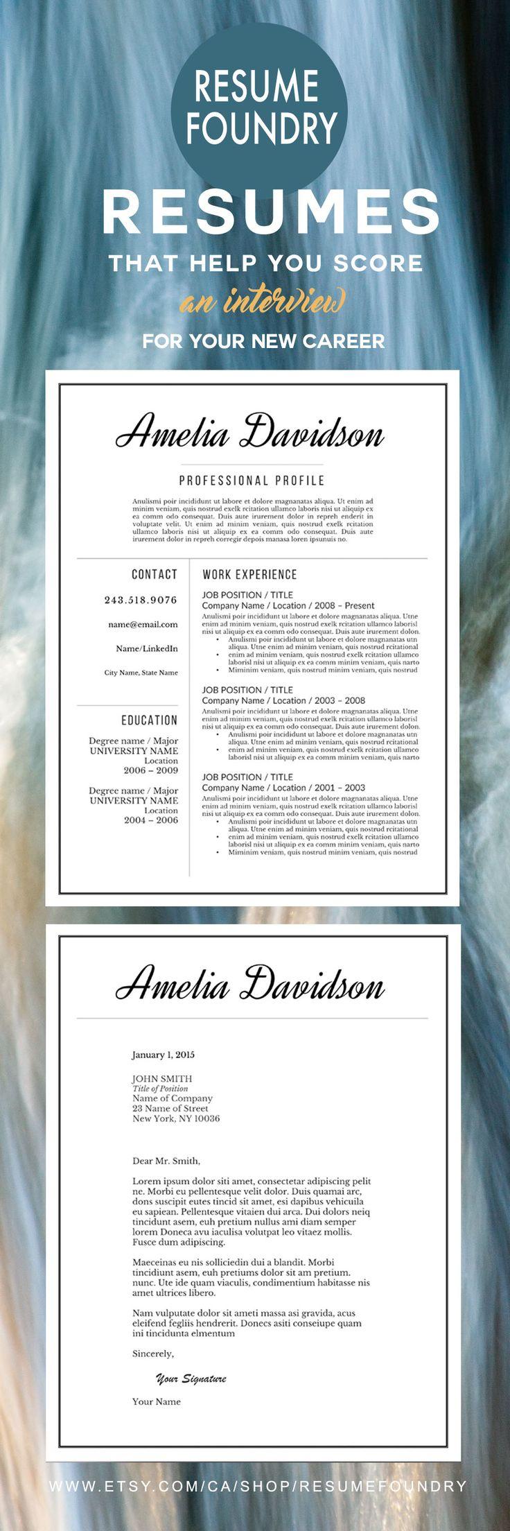 Resume Design Beautiful Elegant Resume Template Invest In The