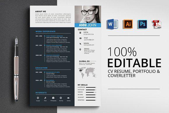 Resume Templates Design Professional Resume Cv Word