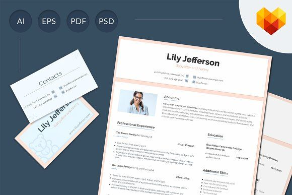 Resume templates design resume template for babysitter resume templates design maxwellsz