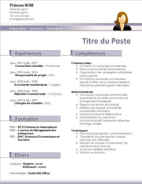 Resume Infographic Télécharger Modèle De Cv Word Gratuit