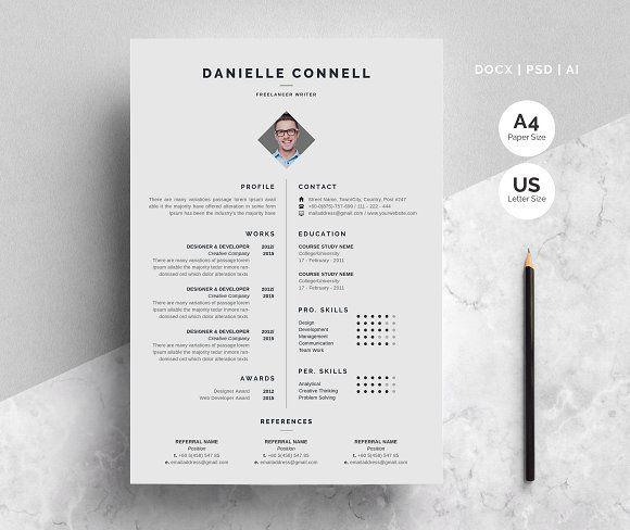 Resume Templates & Design : Resume Template CreativeWork247 ...