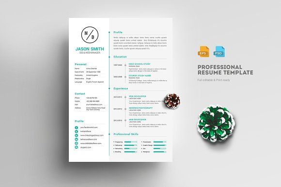 Resume Templates Design Awesome Resume Template