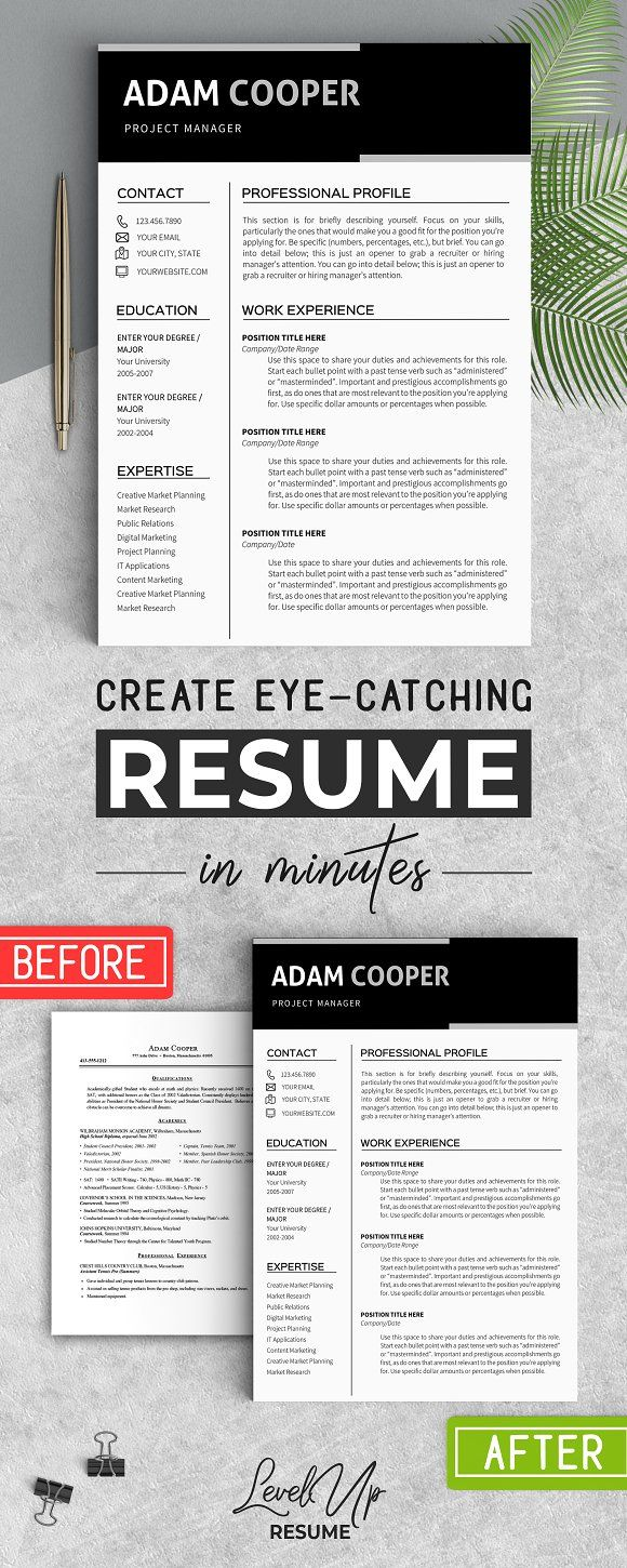 Resume Templates Design Business Resume Template Ms Word