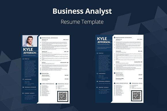 Resume Templates Design Editable Resume Business