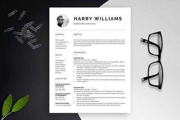 Resume Templates & Design : Resume Template | CV Package ...