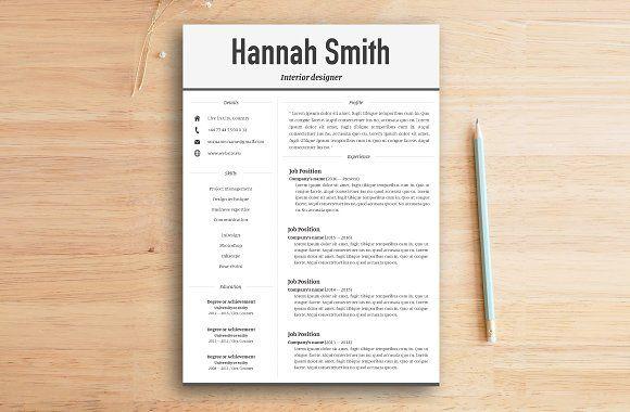 Resume Templates Design Cover Letter Modern B