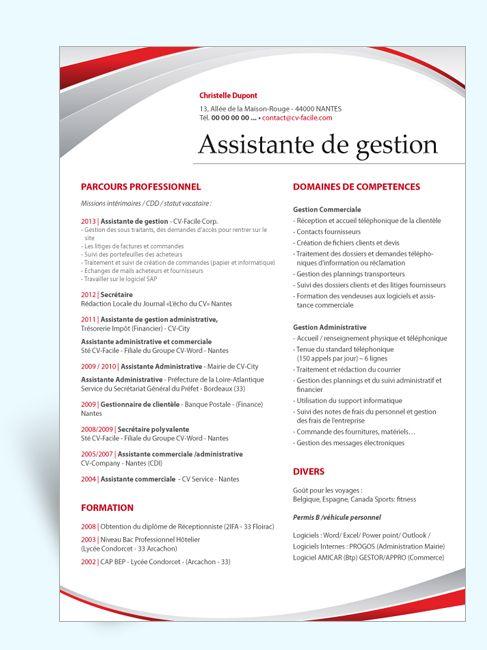 Resume Infographic Modèle Cv Original Assistante De