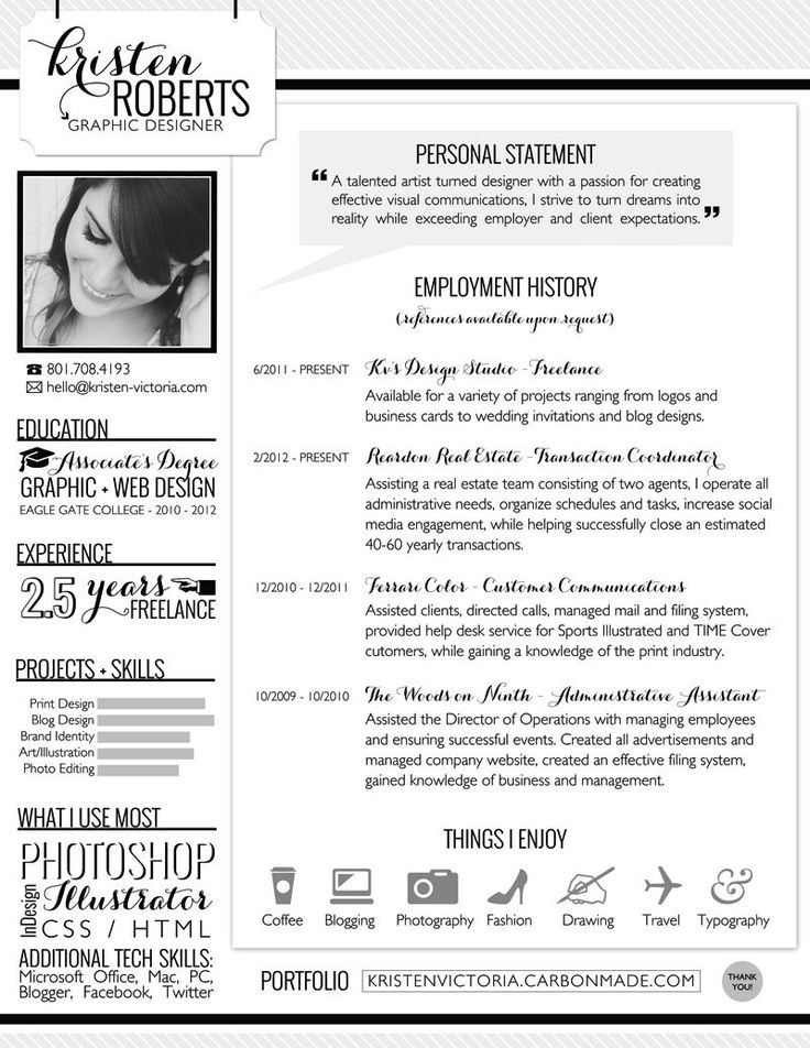 Resume infographic : Resume Templates For Openoffice 4 ...