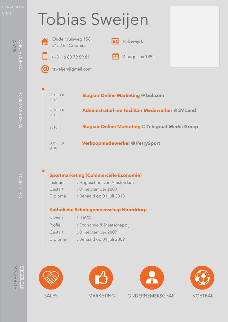 Resume Infographic Resume Infographic New Cv Design