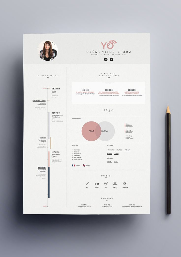0a699116c Resume infographic   Showcase and discover creative work on the ...