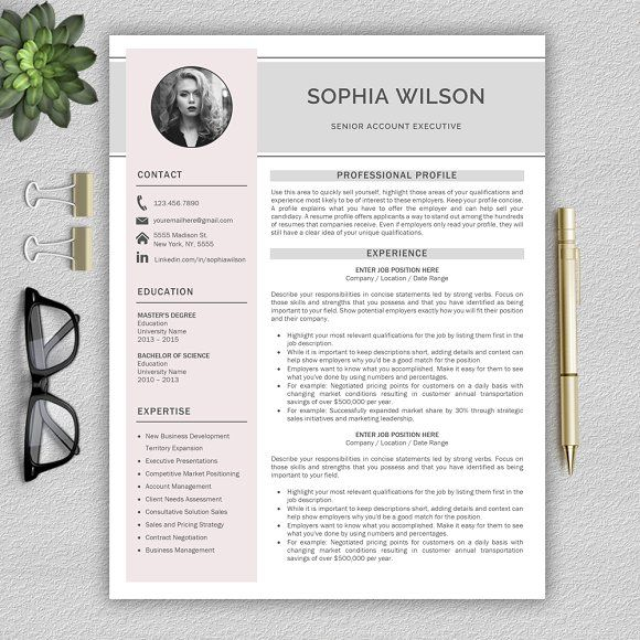 Resume Templates & Design : Resume Template | CV + Cover ...