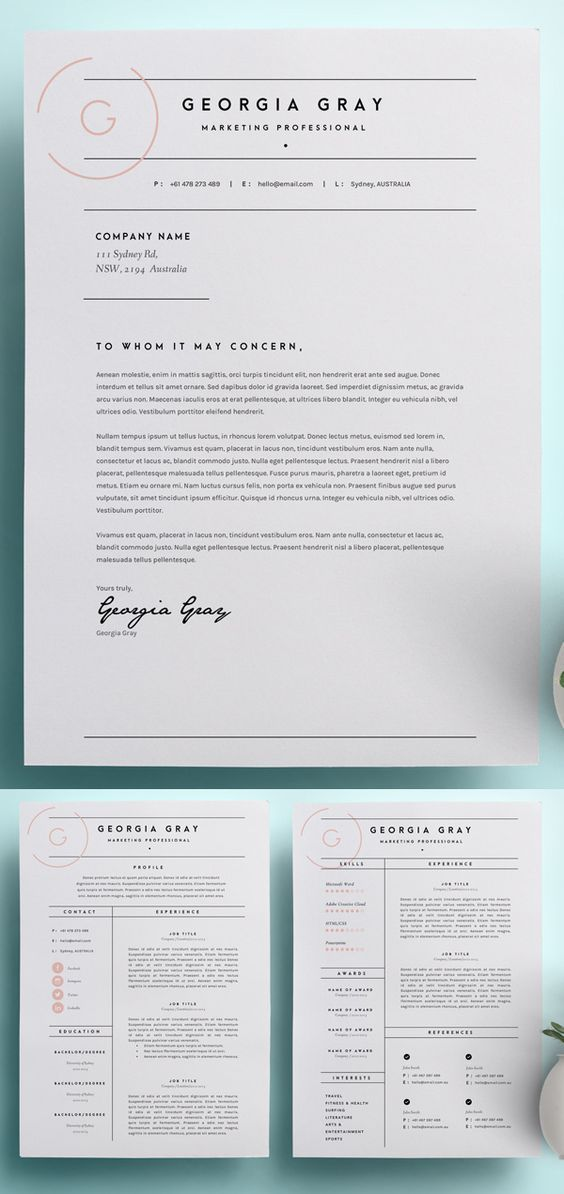 Resume Infographic Business Infographic Beautiful Simple