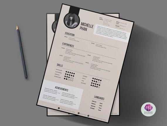 Resume Infographic Modèle De Cv Moderne Modèle De Lettre