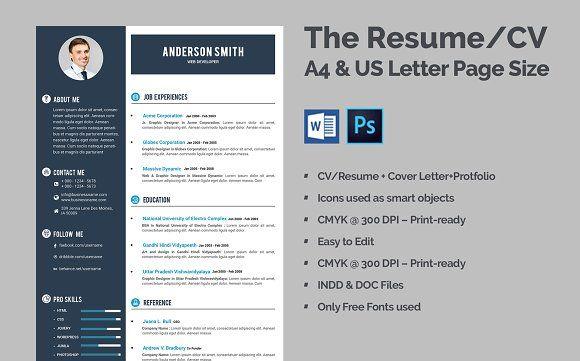 Resume Templates Design Clean Resume Cv Creativework247