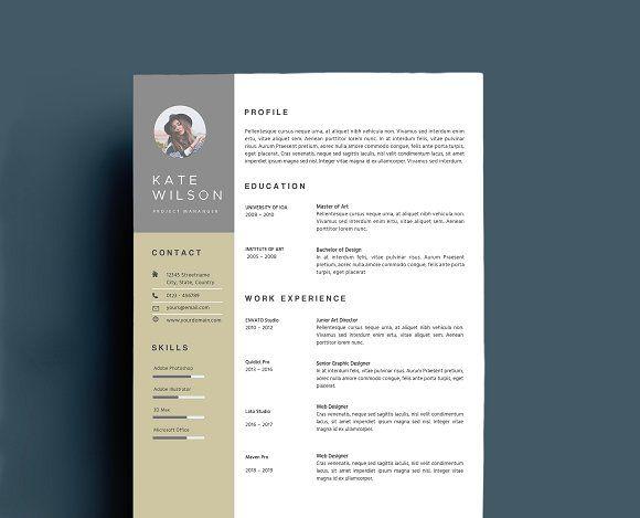 Resume Templates Design Creative Template CreativeWork247
