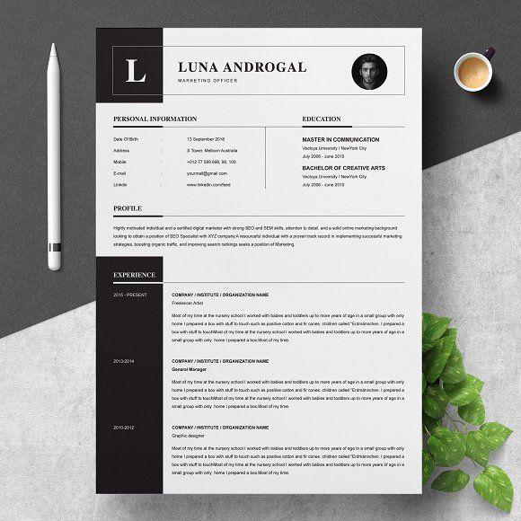 Resume Design Ideas.Resume Templates Design Curriculum Vitae Cv Template