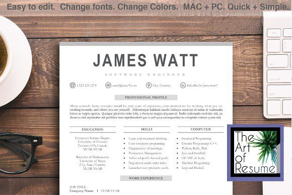 Resume Templates Design Modern Resume Design Template Cv