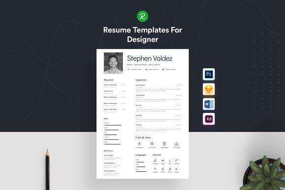 Resume Templates Design Template For Designer