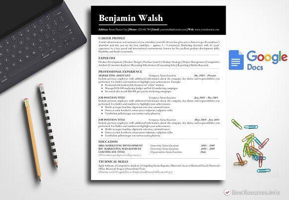 Resume Templates Design Simple Resume Template Google Docs