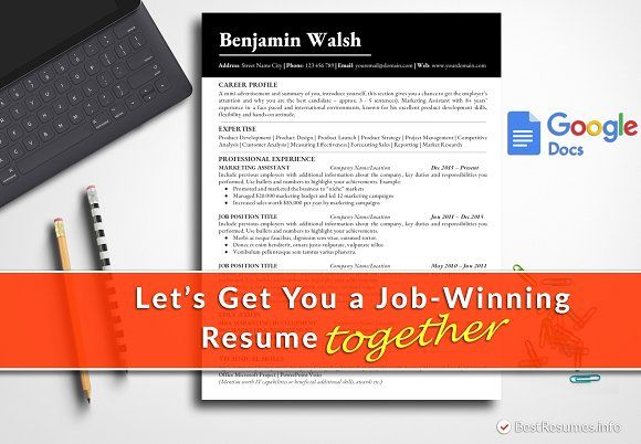 Resume Templates Design Simple Template Google Docs