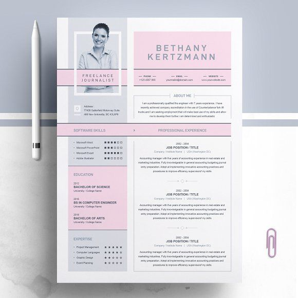 Resume Templates Design Cool Creative Cv Resume Design