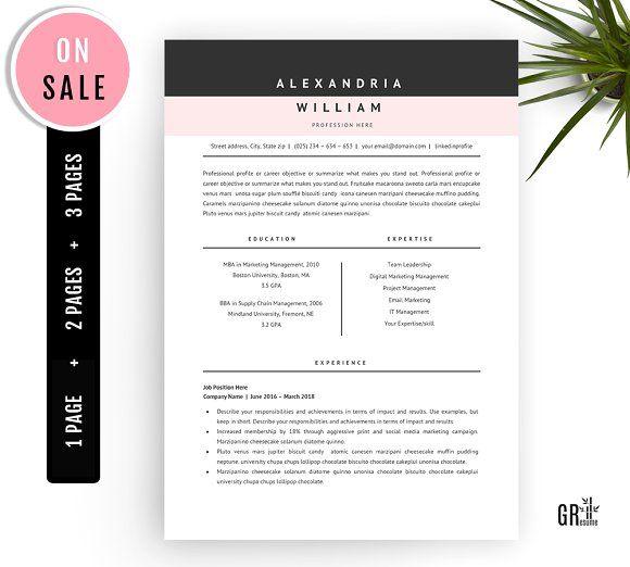 Resume Templates & Design : Professional Resume Template ...