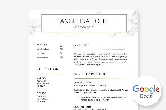 Resume Templates Design Resume Template Google Docs Creativework247 Fonts Graphics Photoshop Templa Resumes Tn Home Of Resumes Inspiration Ideas Beautiful Professional Resume Ideas That Work