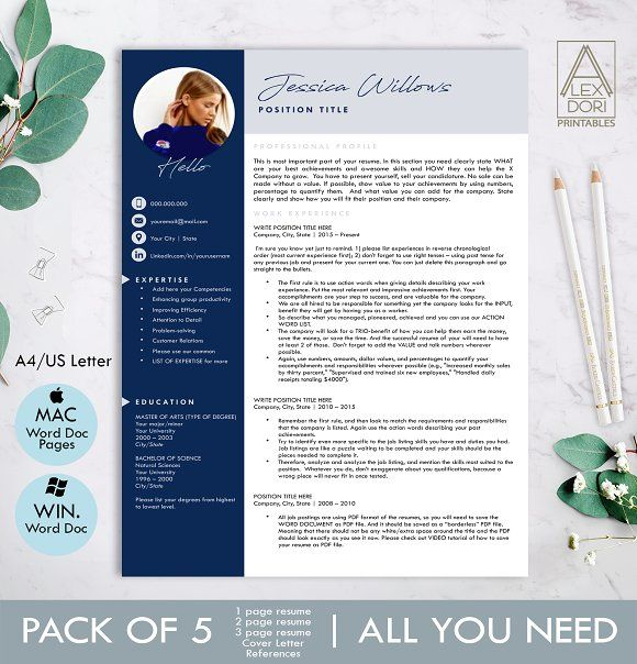 Beautiful Resume Templates from resumes.tn
