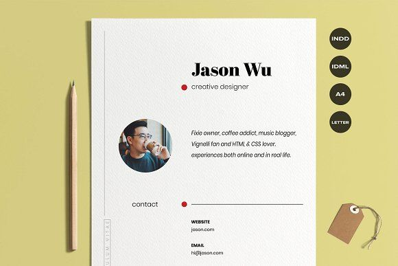 Resume Templates Design Creative Resume Cover Letter