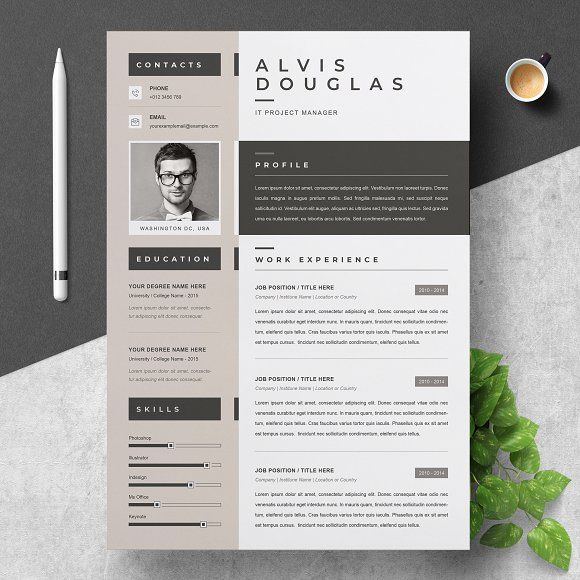 Resume Templates Design Creative Resume Template Creativework247 Fonts Graphics Photoshop Templates Resumes Tn Home Of Resumes Inspiration Ideas Beautiful Professional Resume Ideas That Work