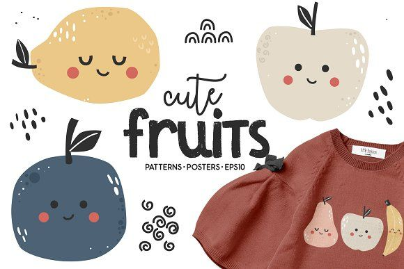 Resume Templates & Design : Cute fruits CreativeWork247 ...