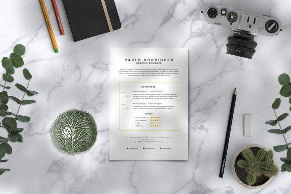 Resume Templates Design Modern Cv Resume Template