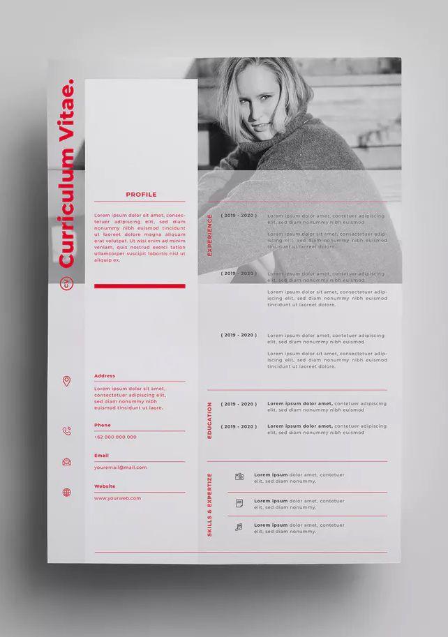 Resume Templates Creative Resume Design Template Ai Eps
