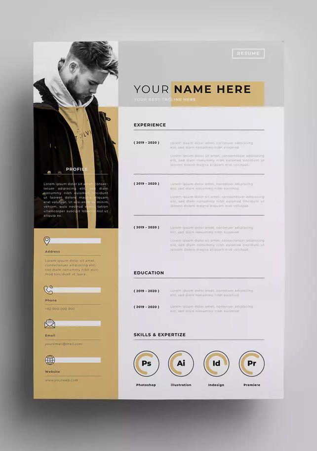 Resume Templates Resume Design Template Eps Ai Resumes Tn