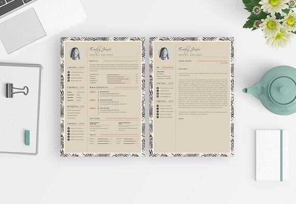 Resume Templates Design Cv Resume Portfolio Card Template C